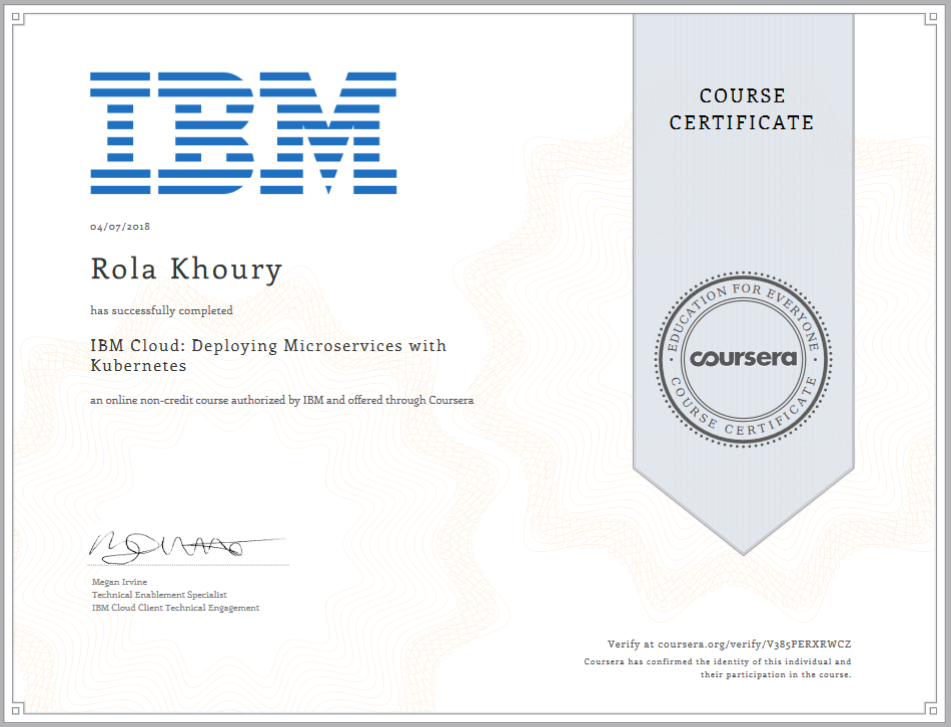 IBM Cloud: Deploying Microservices withKubernetes