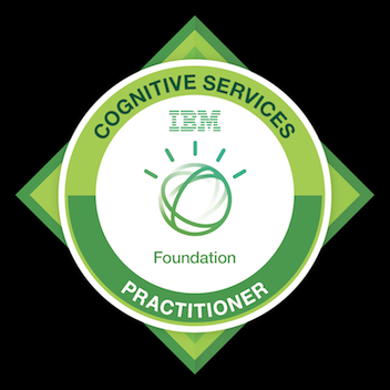 Badge: Cognitive Practitioner