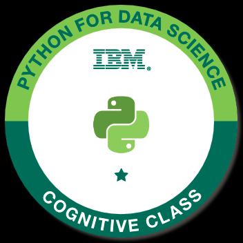 Badge: Python for Data Science