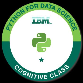 Badge: Python for DataScience